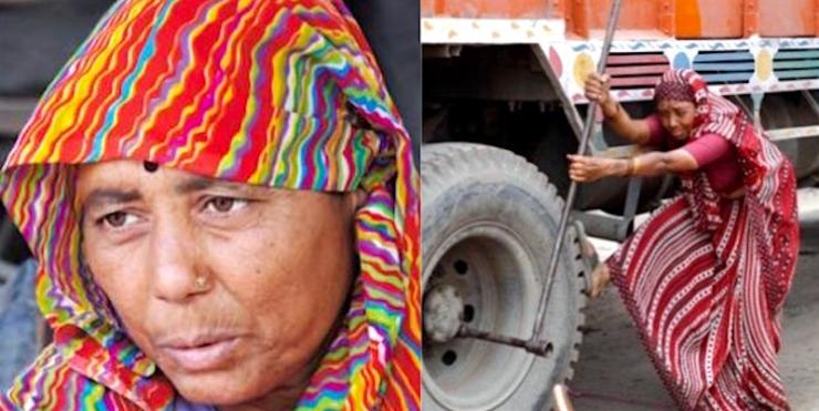 India's first lady truck mechanic: You've never seen anything like this before