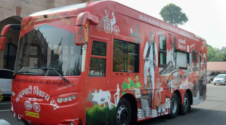 Here's why chief minister Akhilesh Yadav's Mercedes bus costs 5 crores