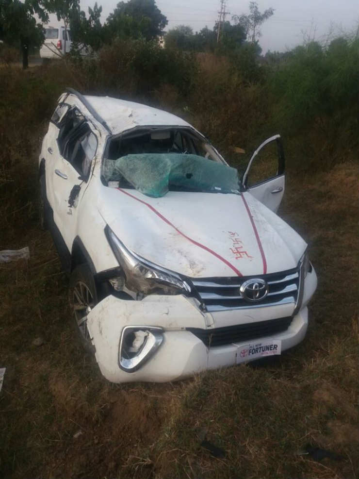India's first new Toyota Fortuner crash photos are here