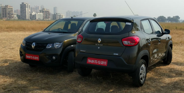 Renault Kwid AMT- First drive report