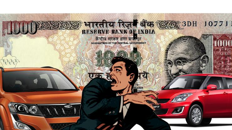 How the 'surgical strike' on black money will impact our car buying and selling