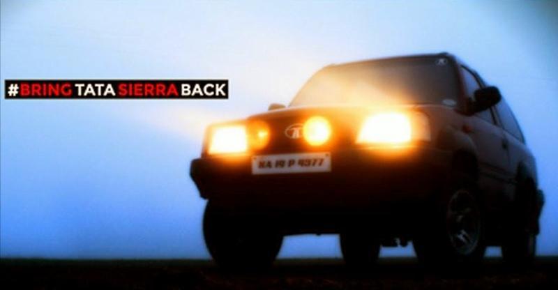 Tata, bring back the Sierra!