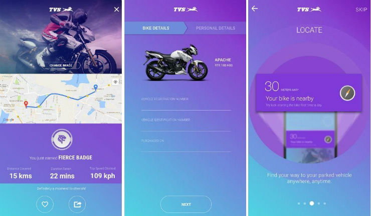 TVS launches new IRIDE smartphone app for 2-wheelers