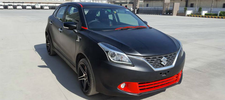 Modified Stunners Brezza In White Amp Baleno In Black