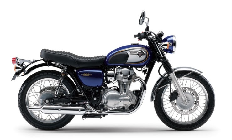 kawasaki w800 the rival to the upcoming royal enfeild 750 spotted in india. Black Bedroom Furniture Sets. Home Design Ideas