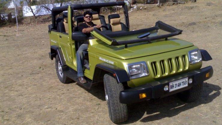 Tastefully modified Mahindra Bolero spotted at a ... |Mahindra Bolero Sportz Modified