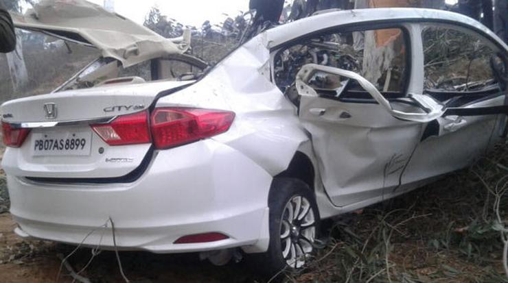 Honda City Crash 1