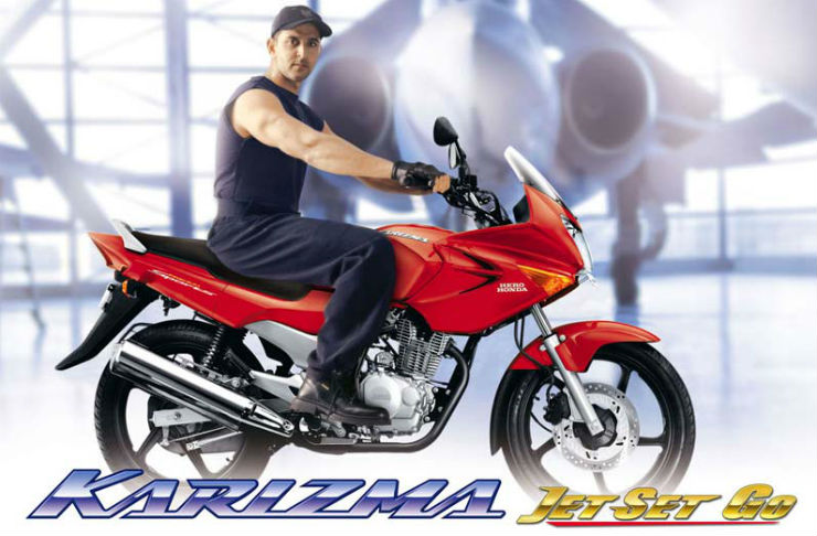 Continued: 10 forgotten, celebrity bike ads: Blast from the past