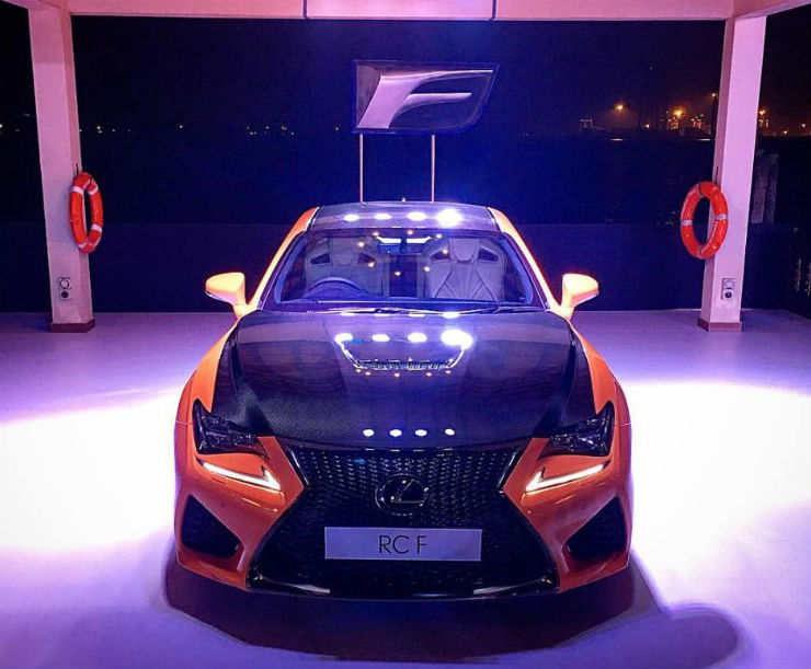Lexus contemplating RC-F sports car for India