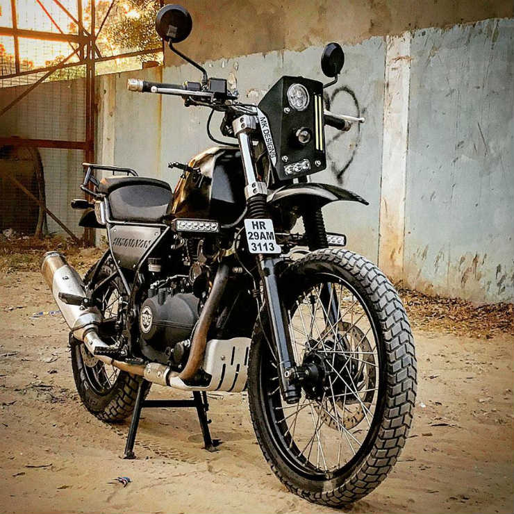 5 Modified Royal Enfield Himalayans