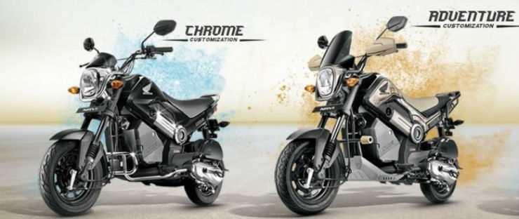 Honda Navi gets customisation options