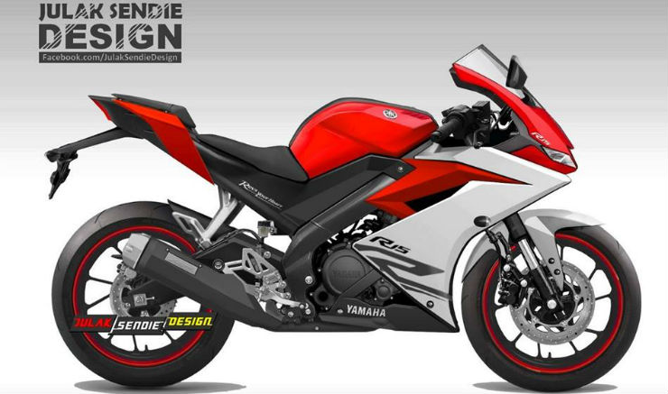 Yamaha R15 Version 3.0: This is how it'll look like