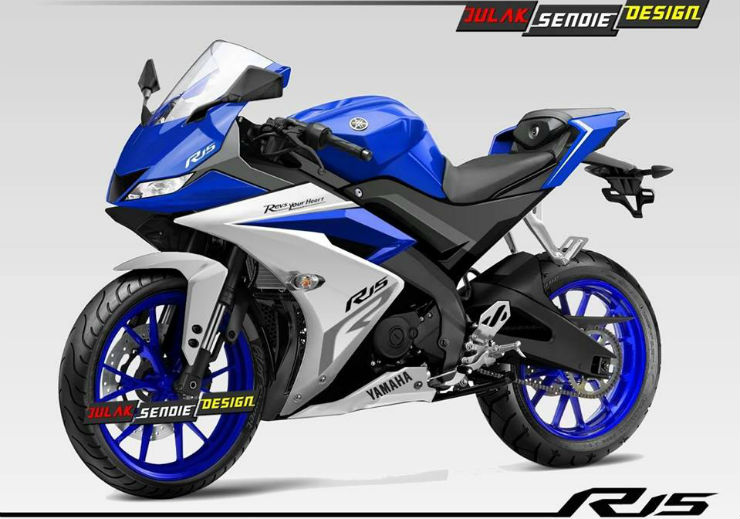 Yamaha R15 Version 3 0: This is how it'll look like