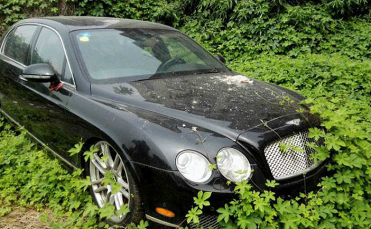 Continued: Abandoned exotic cars & SUVs of China
