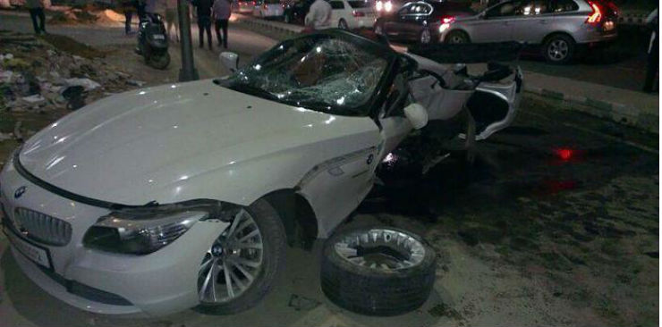 Continued 20 Mind Numbing Exotic Car Crashes Of India Bentleys To
