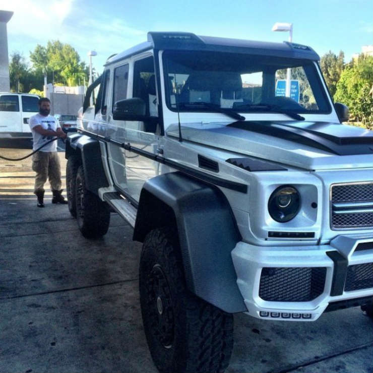 Continued: 10 Famous Mercedes Benz G-Wagen owners