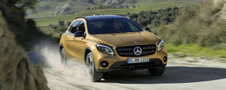 All-new 2017 Mercedes GLA unveiled