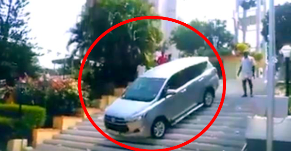 Epic FAIL: When the Toyota Innova Crysta tries to become a Fortuner