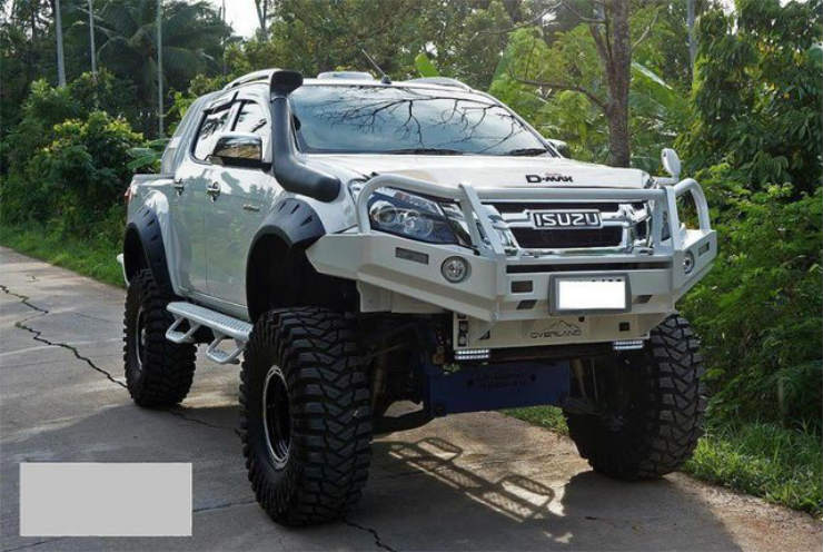 isuzu lift