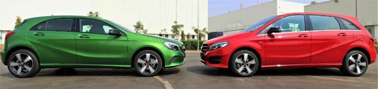 Mercedes Benz launches special edition of A & B Class