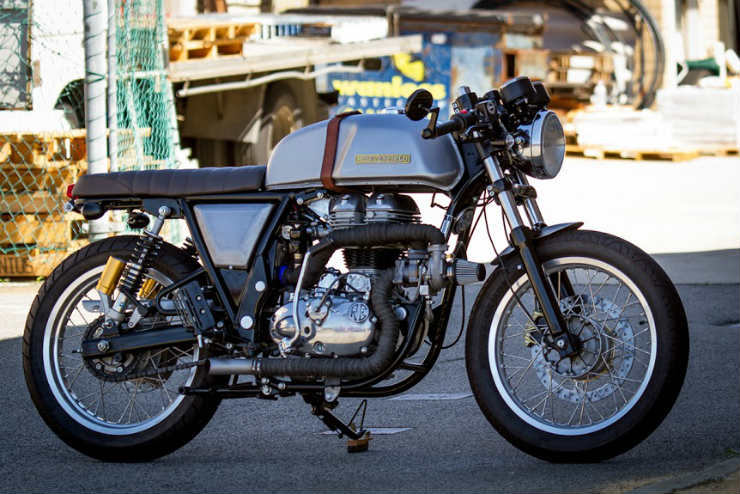 Meet the world's most powerful Royal Enfield 'TURBO' Continental GT535
