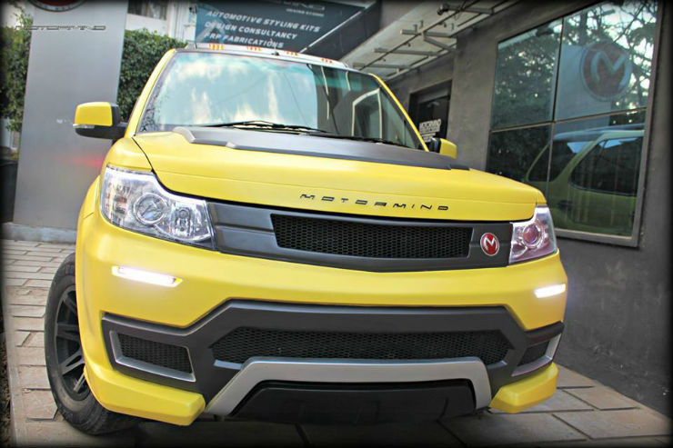 Modified Tata Safaris from across the country
