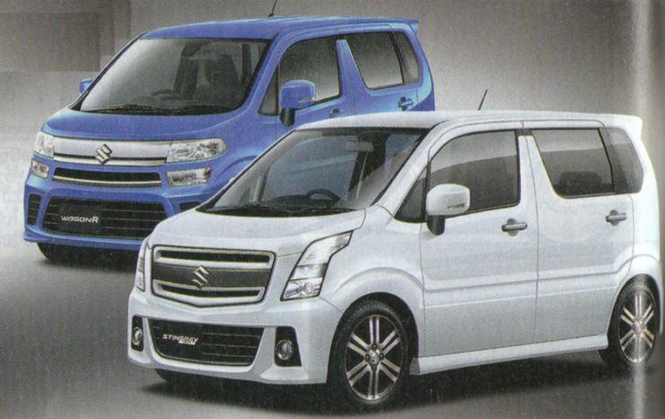 All-new Suzuki WagonR leaked