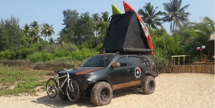 Toyota Fortuner Transformed Into Ultimate Expedition Machine