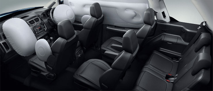 Comprehensive SafetySuite6Airbags
