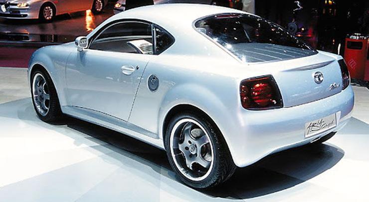 Tata Aria Coupe Rear