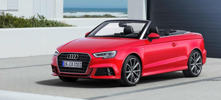 Audi launches facelifted A3 cabriolet
