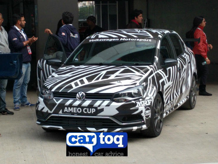 VW Ameo Cup cars spotted ahead of 2017 season