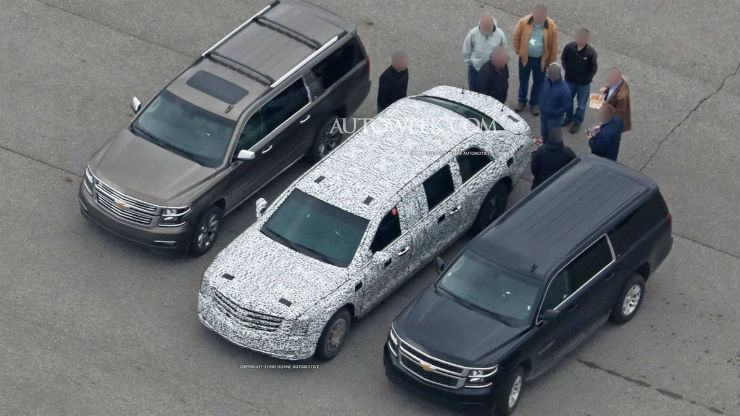 Trump's presidential limo spyshots leaked, and its truly a BEAST