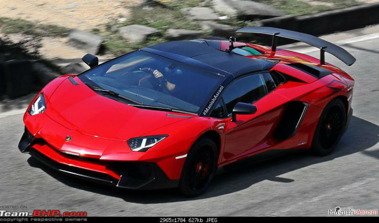 Again, The SV Is A Limited Edition Vehicle From Lamborghini. The Company  Made Only 500 Coupe And 500 Roadster Versions, Of Which One Of Each Made It  To ...