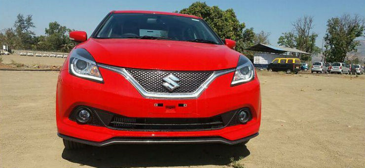 Maruti Baleno RS spied without camouflage