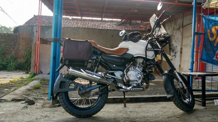 When You Want The Royal Enfield Himalayan But Only Have A