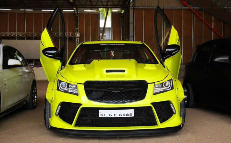 India S 10 Best Modified Chevrolet Cruzes