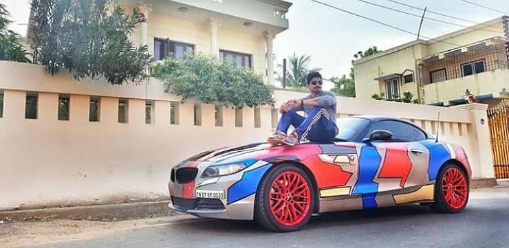 Famous Indian Race Car Driver Ashwin Sundar And Wife Killed In Bmw