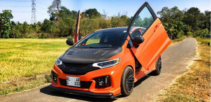 Continued: 10 red HOT scissor door cars from India