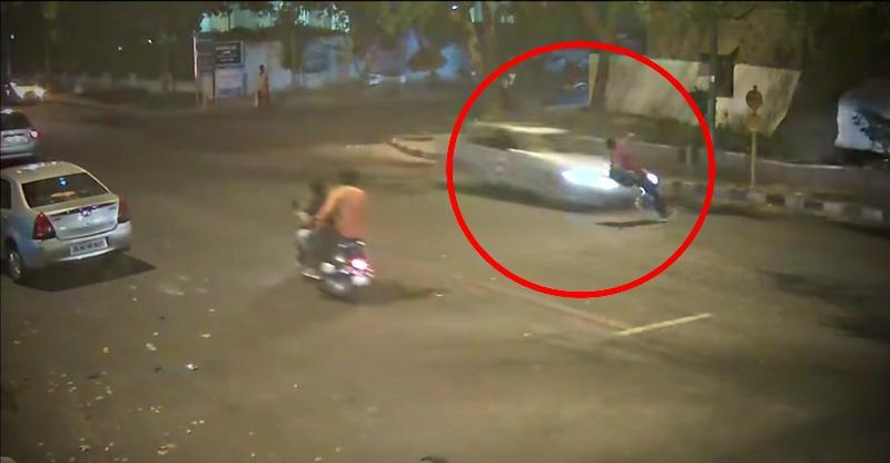 Mercedes Benz Siddharth Sharma Accident Delhi