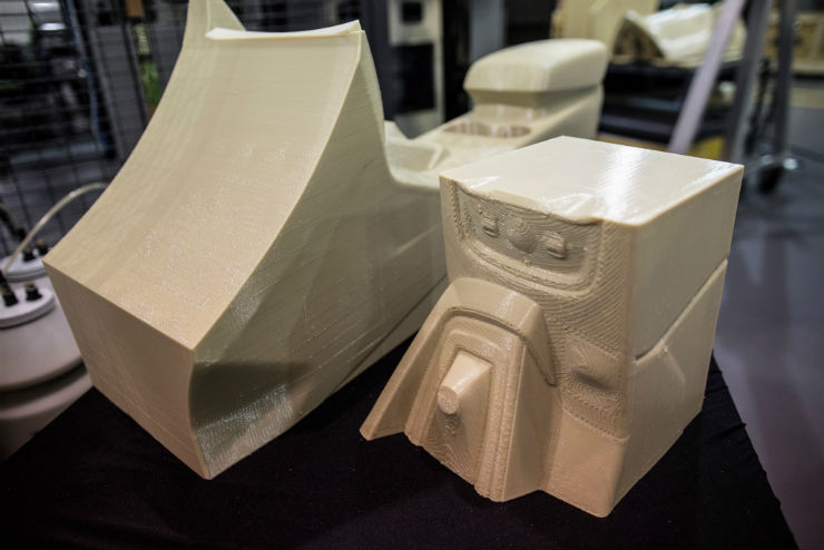 Ford tests its large scale 3D printing