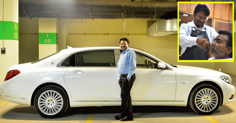Meet the Indian barber who just bought a 3.2 crore rupee Maybach