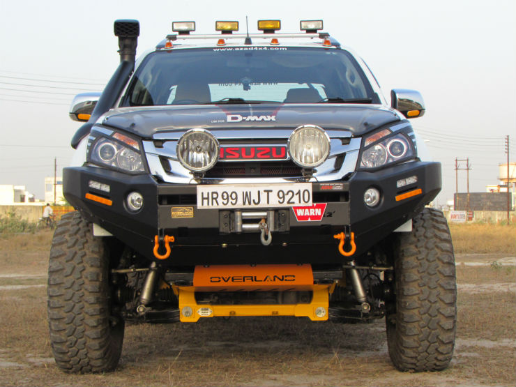 This Modified Isuzu D Max V Cross Is Pure Menace