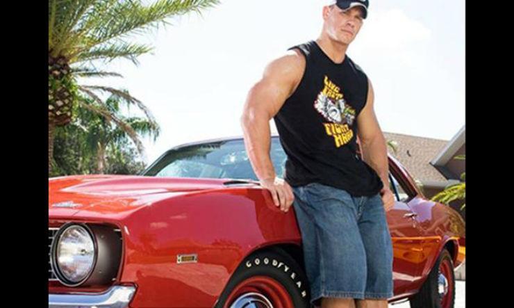 WWE Stars 038 Their Cars The Rock Stone Cold John Cena Triple H 038 Hulk Hogan