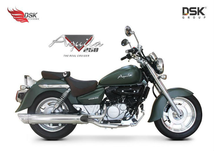 DSK Hyosung Aquila 250 limited edition launched