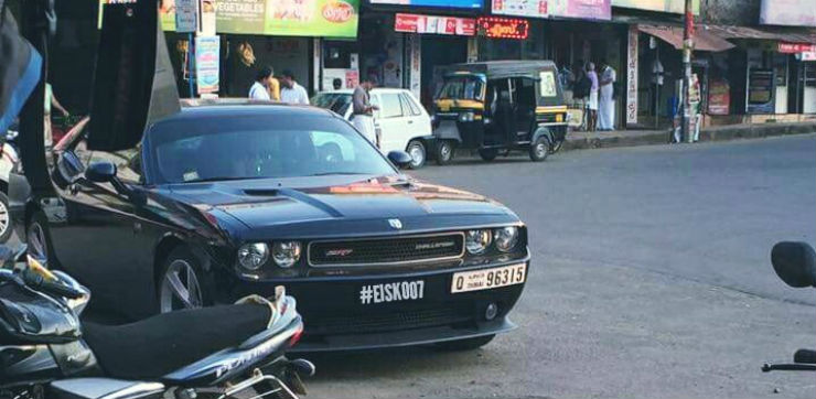 Since India Never Got The Dodge Brand People Have Resorted To Bringing Their Cars From Other Countries Use Here