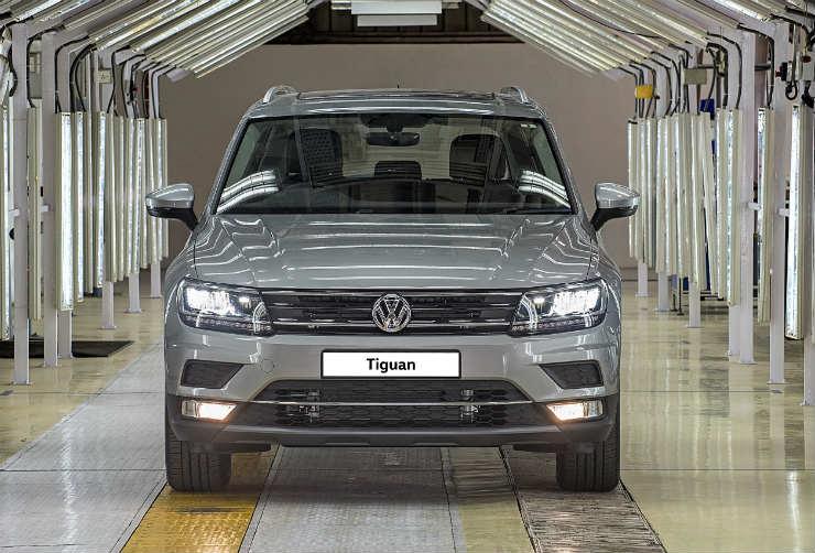 VW Tiguan variant details revealed