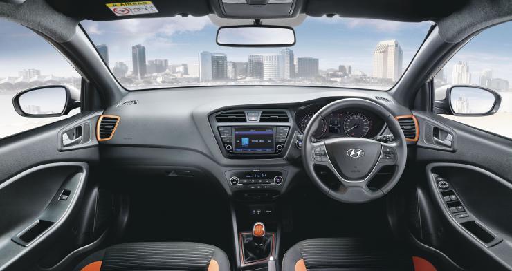2017 Hyundai Elite i20 Interiors