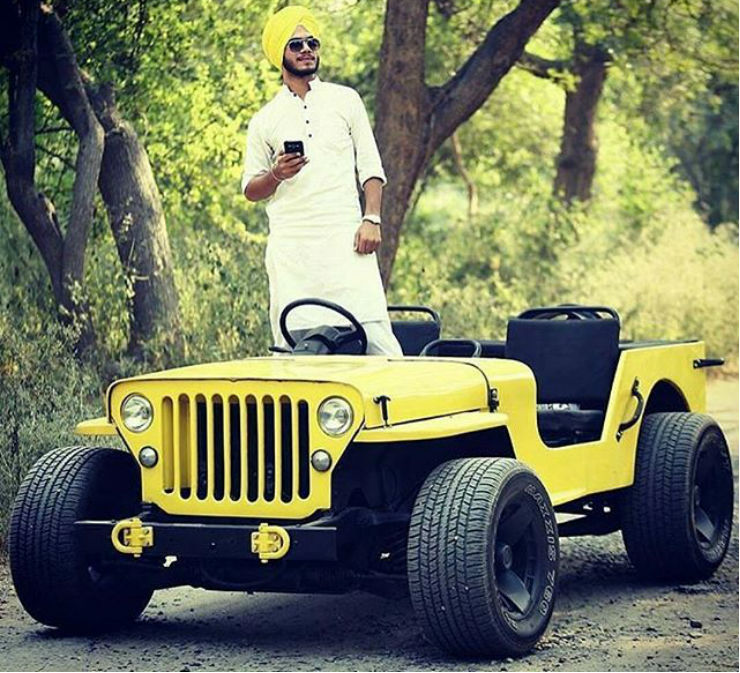 Lowrider Jeeps From India