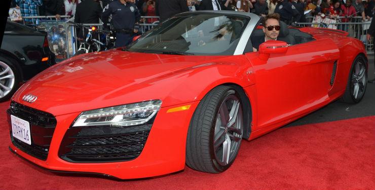 Audi R8_Spyder_Red